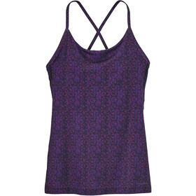 Patagonia Cross Beta Tank Dame batik hex micro: ikat purple